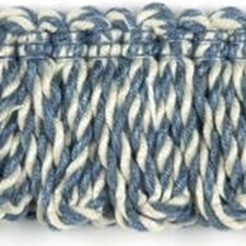 Loop Fringe Blue Trim by Baker Lifestyle