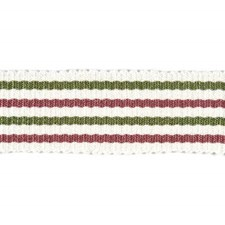 Stripes Pink/Green Trim by Baker Lifestyle