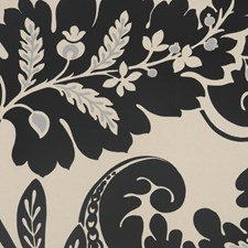 Noir Drapery and Upholstery Fabric by RM Coco
