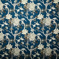 Prussian Traditional Drapery and Upholstery Fabric by Pindler