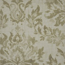 Vintage Linen Drapery and Upholstery Fabric by Maxwell