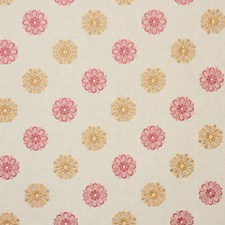 Raspberry Drapery and Upholstery Fabric by RM Coco