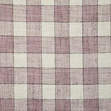Lilac Check Drapery and Upholstery Fabric by Pindler