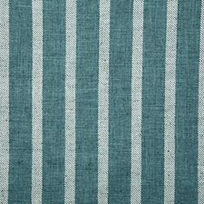 Teal Stripe Drapery and Upholstery Fabric by Pindler