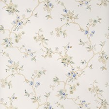 China Blue Asian Wallcovering by Stroheim Wallpaper