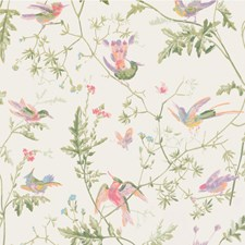 Soft Multi-Colour Wallcovering by Cole & Son Wallpaper