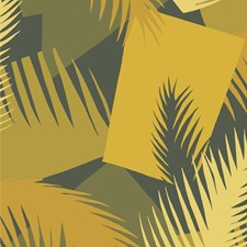 Yellow Print Wallcovering by Cole & Son Wallpaper