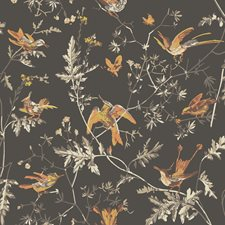 Charcoal/Ginger Wallcovering by Cole & Son Wallpaper