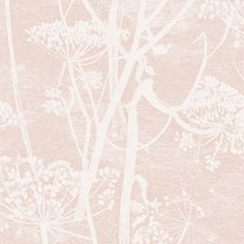 Plaster Pink Botanical Wallcovering by Cole & Son Wallpaper