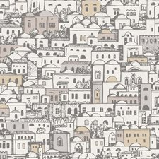 White/Gilver Print Wallcovering by Cole & Son Wallpaper