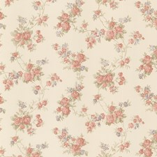 Red Traditional Wallpaper Wallcovering by Brewster