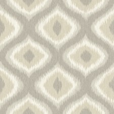 Taupe Ogee Wallcovering by Brewster