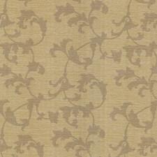 Brass Scroll Wallcovering by Brewster