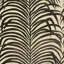 Black On Ivory Wallcovering by Schumacher Wallpaper