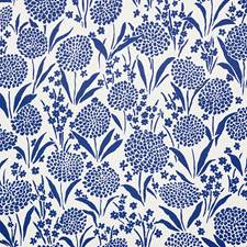 Blue Wallcovering by Schumacher
