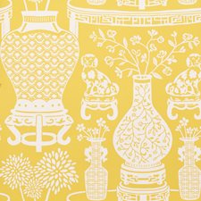 Yellow Wallcovering by Schumacher