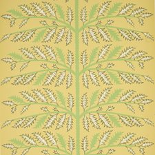 Mustard Wallcovering by Schumacher Wallpaper