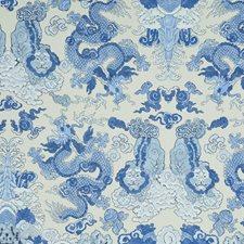 Porcelain Wallcovering by Schumacher Wallpaper