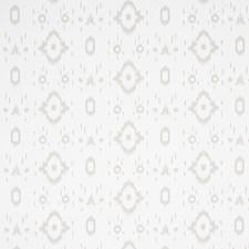 Soft Grey Wallcovering by Schumacher Wallpaper
