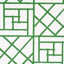 Safari Green Wallcovering by Schumacher Wallpaper