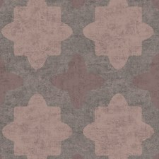 Brown/Pink Transitional Wallcovering by JF Wallpapers
