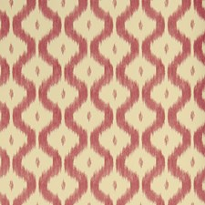 Red Flamestitch Wallcovering by Stroheim Wallpaper