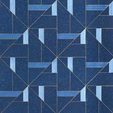 Neptune Blue Wallcovering by Phillip Jeffries Wallpaper