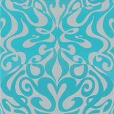Aqua Wallcovering by Cole & Son Wallpaper