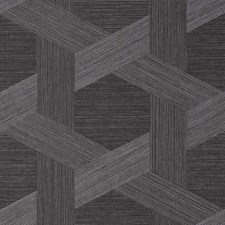 Charcoal Aura Wallcovering by Phillip Jeffries Wallpaper