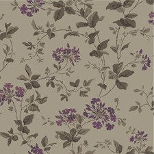 Beige/Purple Wallcovering by Cole & Son Wallpaper