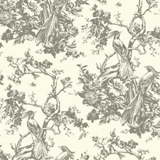 Gray/White Animals Wallcovering by York