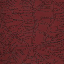Red Novelty Wallcovering by Andrew Martin Wallpaper