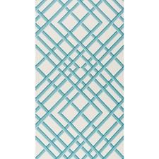 Aqua Print Wallcovering by Brunschwig & Fils