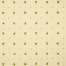 Olive Geometric Wallcovering by Brunschwig & Fils