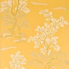 Yellow Wallcovering by G P & J Baker