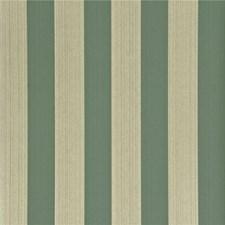 Teal Stripes Wallcovering by G P & J Baker