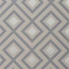Platinum Geometric Wallcovering by G P & J Baker