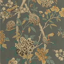 Charcoal/Sienna Animal Wallcovering by G P & J Baker