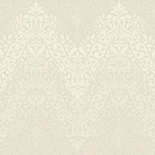 White/Pearl White Traditional Wallcovering by York