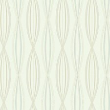 Cream/Beige/Pale Taupe Geometrics Wallcovering by York