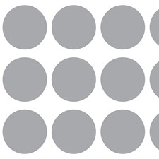 CR-65401 Circles Window Stickers by Brewster