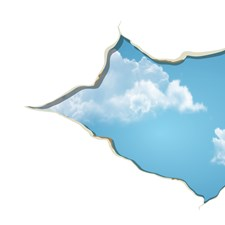 CR-81139 Break in the Sky Wall Decals by Brewster