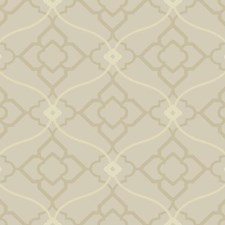 Soft Metallic Silver/Pale Grey/Light Grey Bohemian Wallcovering by York