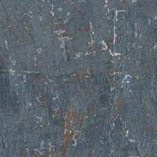 Metallic Medium Grey/Blue/Dark Brown Textures Wallcovering by York