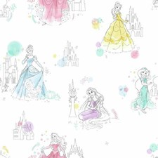 DI0968 Disney Princess Pretty Elegant by York
