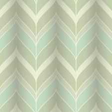 Silver Sheen/Sheer Aquamarine/Putty Chevron Wallcovering by York