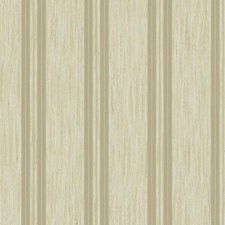 Cream/Beige/Silver Stripes Wallcovering by York