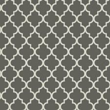 Dark Chinchilla/Hint Of Grey/Sterling Silver Trellis Wallcovering by York