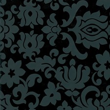 FAB10108 Classic Ornament Black Adhesive Film by Brewster