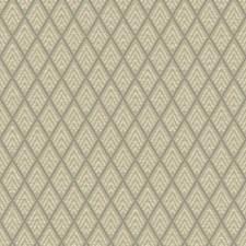 Light Taupe/Brown/Medium Grey Geometrics Wallcovering by York